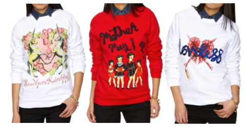 Meadham Kirchhoff for Amazon Sweatshirts